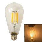 KWB LED E27 8W Warm White 8-LED Filament Bulb - Transparent