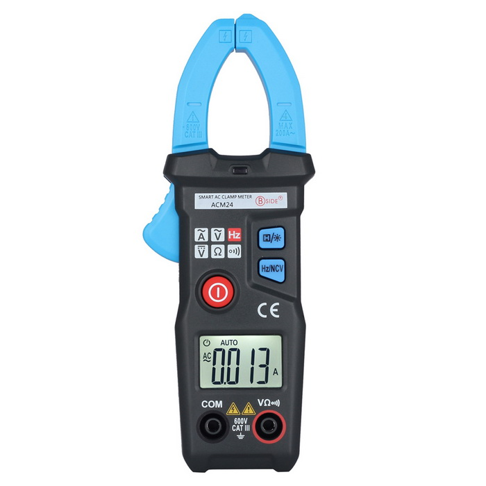 Buy BSDIE ACM24 Smart Mini AC Digital Clamp Meter Electronic Tester Meter with Litecoins with Free Shipping on Gipsybee.com