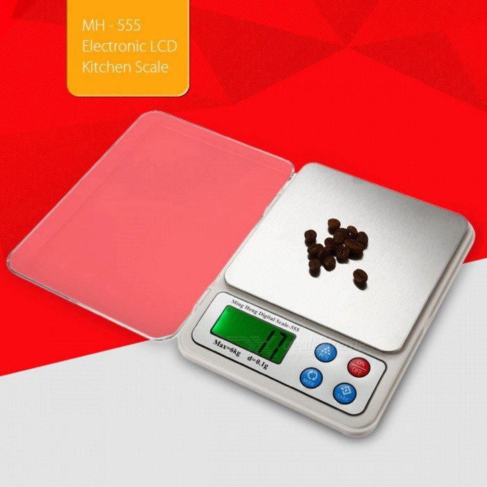 """MH-555 6kg/0.1g 2.2"""" Display High Quality Kitchen Scale/Baking ..."""