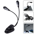 YouOKLight USB Rechargeable Dual-Arm 8-LED Clip Reading Lamp