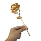 Gold Rose Valentine's Day Christmas and New Year Gifts Ornament