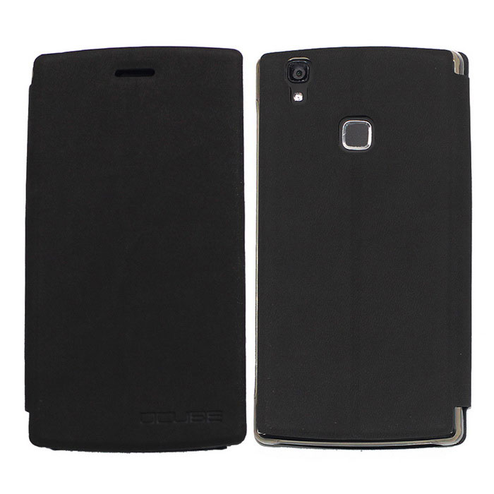 OCUBE PU Leather Case for Doogee X5 MAX  Mobile Phone - Blackish Grey