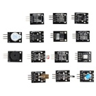 37-in-1 Arduino Sensor Module + 60PCS Resistors Learning Kit