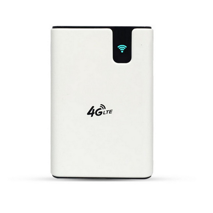 MS701 7500mAh 3G 4G Wireless Wi-Fi Router Power Bank - White