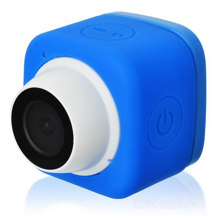 Wi-Fi Sefie Device Self Timer Camera for IOS / Android Devices - BlueCamcorders<br>Form  ColorBlue + WhiteMaterialABSQuantity1 DX.PCM.Model.AttributeModel.UnitPacking List1 * Camera1 * USB cable (103.5cm)1 * Chinese / English user manual1 * Warranty card<br>