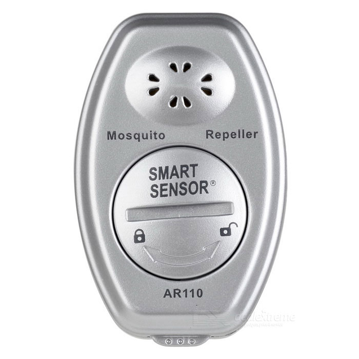 Smart Sensor AR110A Watch-type Ultrasonic Mosquito Repeller - Silver
