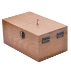 FCU003 Wooden Creative Puzzle Toy Magic Box - Brown
