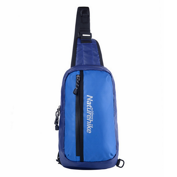 Buy NatureHike Waterproof Single Shoulder Chest Bag - Blue (8L) with Litecoins with Free Shipping on Gipsybee.com