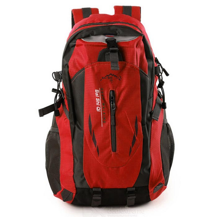 Buy Outdoor Travel Mountaineering Large Capacity Bag Backpack - Red (40L) with Litecoins with Free Shipping on Gipsybee.com