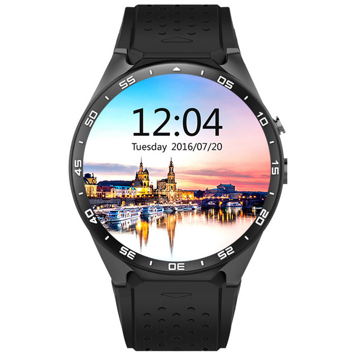 KW88 Android 5.1 OS 3G Smart Watch Phone w/ 512MB RAM, 4GB ROM