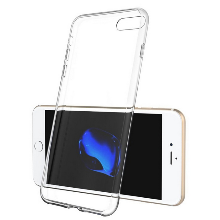 Ultra-Thin Protective TPU Back Case for IPHONE 7 Plus - Transperent