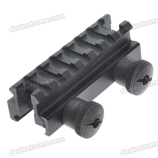 "3"" Low Aluminum Alloy Scope Mount Base for SR-16/SA80A2 - Black"