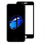 9H Tempered Full Screen Film Glass for IPHONE 7 - Black