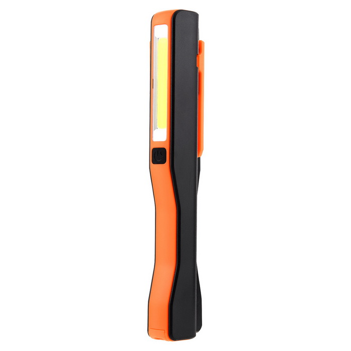 SLBD-C LED Flashlight 3-Mode 1000lm Cold White - Orange + Black