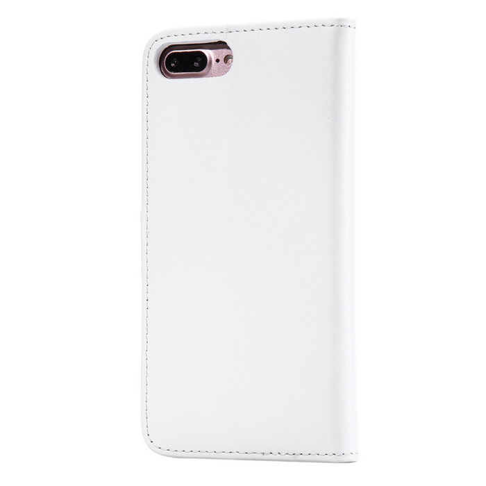 new styles 0ddc0 a847e PU Leather + PC Case for IPHONE 7 PLUS - White