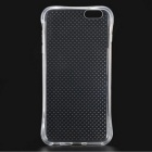 Polka Dots Protective Phone Back Case for IPHONE 7 - Black + White