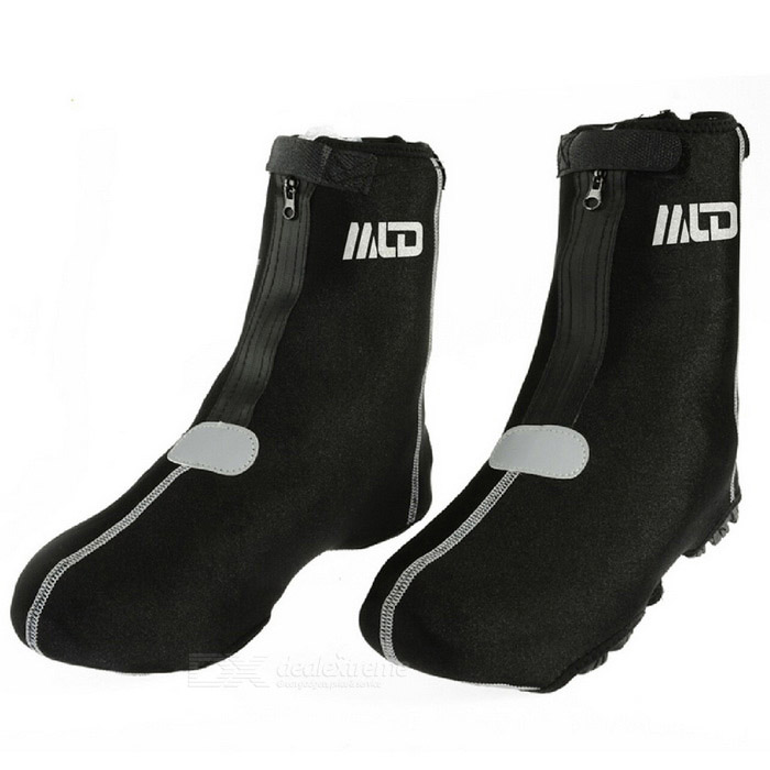 Buy MLD LF - 026 Winfproof Warm High Ankle Shoe Covers - Black (Pair) with Litecoins with Free Shipping on Gipsybee.com