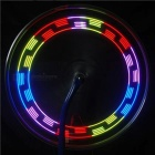 14-LED Colorful Light Vibration Sensing Bike Spoke Lamp