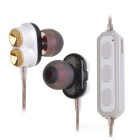 DseKai M2 Stereo Bluetooth V4.1 Auricular In-Ear - Blanco + Negro