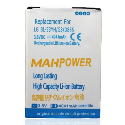 """Replacement 3.8V """"4041mAh"""" Battery for LG G3"""