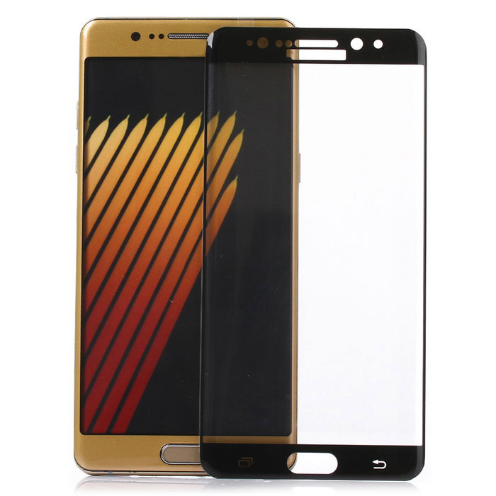 ASLING Tempered Glass Screen Protector for Samsung Note 7 - Black