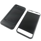 Protective TPU + PC Card Slot Case for IPHONE 7 - Black