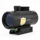 1X40 Hunting Tactical Red Green Dots Rifle Riflescopes - Black