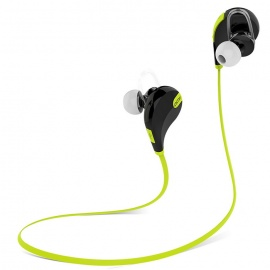 QCY QY7 Bluetooth 4.1 Wireless Sports Stereo Earphones w/ MIC – Green