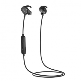 QCY QY19 Bluetooth 4.1 Wireless Sports Stereo Earphones w/ MIC - Black