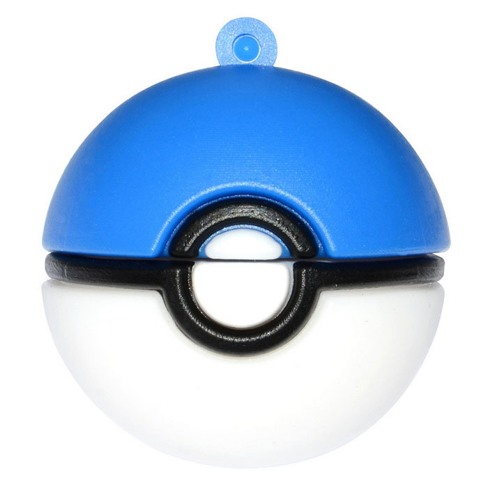 Poke Ball Style USB 2.0 Flash Drive - ( 8GB)