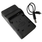Ismartdigi 70A Micro USB Mobile Camera Battery Charger - Black