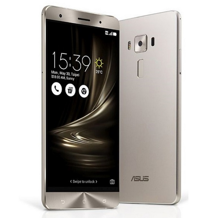 ASUS zenfone 3 Deluxe ZS570KL 6GB RAM 64GB ROM Dual-SIM - Silber