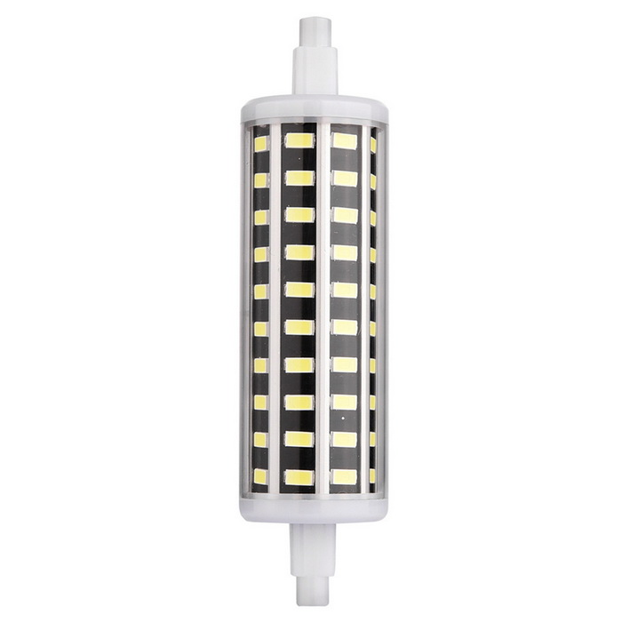 YWXLight R7S 80-5733 SMD LED Cold White Corn Bulb (AC 85-265V)Color BIN118mm 10W Cool WhiteMaterialPCForm  ColorWhite + Orange + Multi-ColoredQuantity1 DX.PCM.Model.AttributeModel.UnitPower10WRated VoltageAC 85-265 DX.PCM.Model.AttributeModel.UnitConnector TypeOthers,R7SEmitter TypeOthers,5733 SMDTotal Emitters80Theoretical Lumens1200 DX.PCM.Model.AttributeModel.UnitActual Lumens800-900 DX.PCM.Model.AttributeModel.UnitColor Temperature6000KDimmableNoBeam Angle360 DX.PCM.Model.AttributeModel.UnitPacking List1 * YWXLight LED Bulb<br>