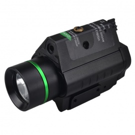 RichFire SF-P25 300LM 1-LED CREE XPG2 S4 White + 5W Green Laser Sight 20mm Rail