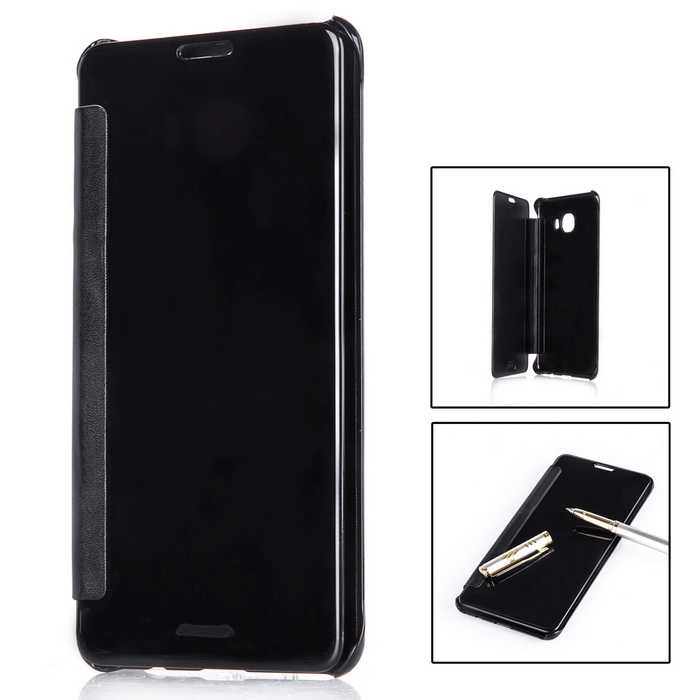 Mirror Cover Protective Flip Case for Samsung GALAXY C7 - BlackPlastic Cases<br>Form  ColorBlackModelN/AMaterialABS+PUQuantity1 DX.PCM.Model.AttributeModel.UnitShade Of ColorBlackCompatible ModelsGALAXY C7Packing List1 * Mirror case<br>