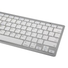 Spanish Keyboard Bluetooth Wireless Keyboard for IPAD + More - White