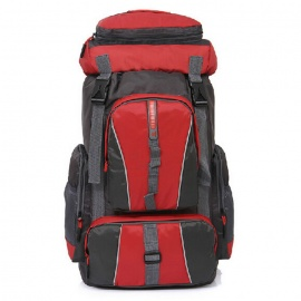 Outdoor-Sports-50L-Backpack-Laptop-Bag-Red