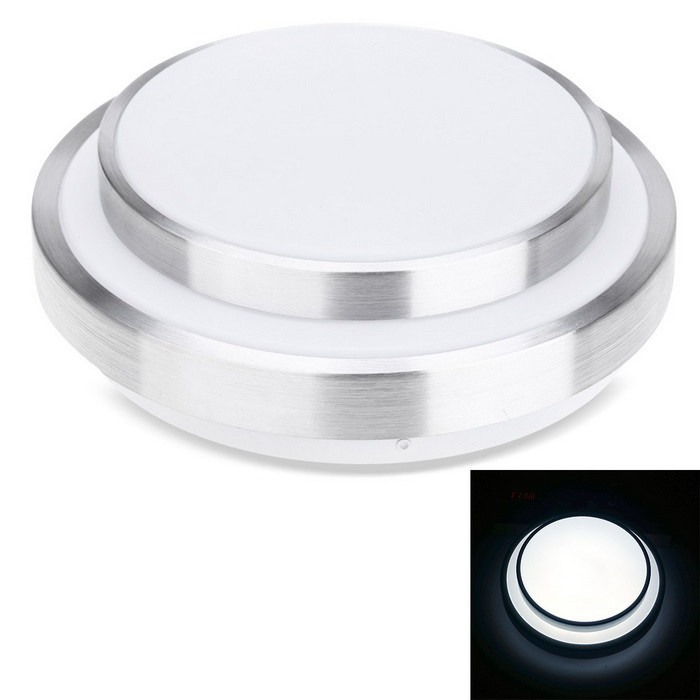 YouOKLight 12W 24-SMD 5730 LED Ceiling Light Voice Control SensorCeiling Light<br>Form  ColorWhite + SilverColor BINCool WhiteModelYK2029Quantity1 DX.PCM.Model.AttributeModel.UnitMaterialAluminum + plasticPower12WRated VoltageAC 220 DX.PCM.Model.AttributeModel.UnitEmitter TypeOthers,5730 SMD LEDTotal Emitters24Theoretical Lumens1200 DX.PCM.Model.AttributeModel.UnitActual Lumens980 DX.PCM.Model.AttributeModel.UnitColor Temperature6000KDimmableNoBeam Angle120 DX.PCM.Model.AttributeModel.UnitPacking List1 * LED Ceiling Lamp<br>