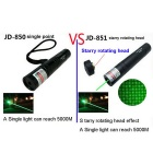 Joyshine JD851 Green Beam 532nm Laserpointer - Schwarz (US Plugs)