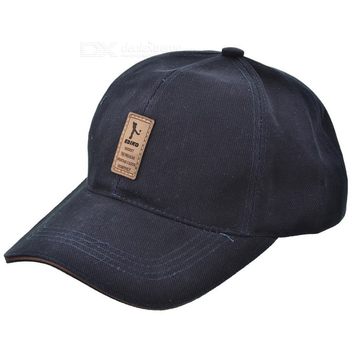 Buy Unisex Outdoor Casual Cotton Sports Baseball Cap - Purplish Blue with Litecoins with Free Shipping on Gipsybee.com