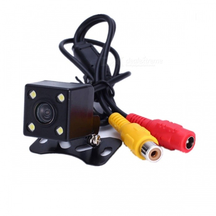 Buy Funrover Newest Car Rearview Camera with Auto-changeable Parking Lines with Litecoins with Free Shipping on Gipsybee.com