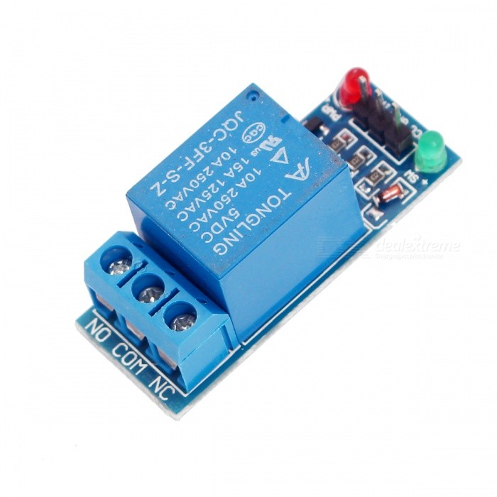 Buy PLC High Level DC 5V One Channel Relay Module for PIC ARM with Litecoins with Free Shipping on Gipsybee.com