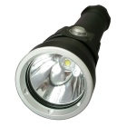 1L2-MO-18650 LED Cold White Waterproof Diving Flashlight with Battery