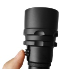 3L2 Zooming 3-LED Cold White Waterproof Diving Flashlight with Battery