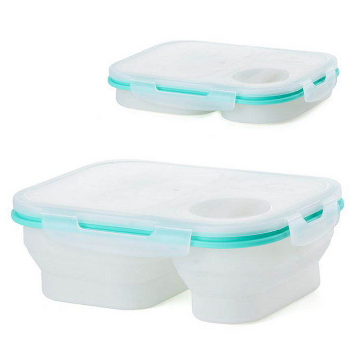 naturehike opvouwbare siliconen lunchboxen Outdoor camping lunchboxen