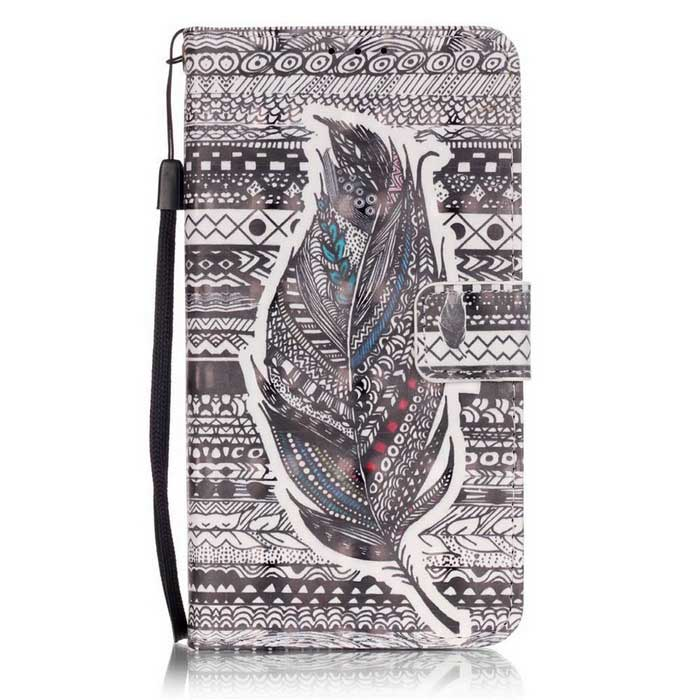 BLCR Tribal Feathers 3D Pattern Protective Case for LG K7