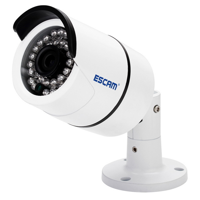 "ESCAM QD410 H.265 1/3"" CMOS 4.0MP 3.6mm P2P Waterproof IP Camera"