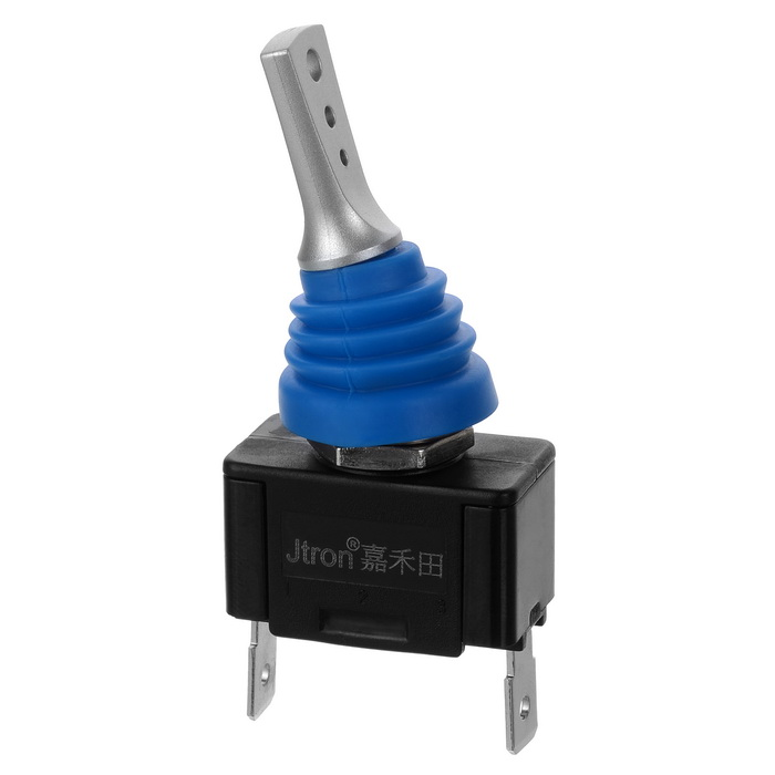 Jtron Waterproof Auto ON-OFF Switch Toggle Switch 12V / 20A 24V / 40ACar Switches<br>Form ColorBlack + Silver + Multi-ColoredModel04020056Quantity1 DX.PCM.Model.AttributeModel.UnitMaterialABS + aluminumIndicator LightNoRate Voltage12~24VRated Current20~40 DX.PCM.Model.AttributeModel.UnitPacking List1 * Switch<br>