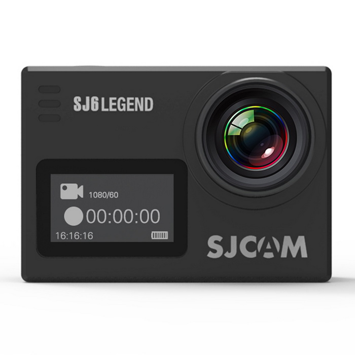 Buy SJCAM SJ6 LEGEND 4K WiFi  Sports Action Camera - Black with Litecoins with Free Shipping on Gipsybee.com
