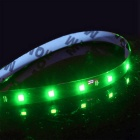 ZIQIAO 15-LED 3W Flexible Light Strips Green Light (30cm / 2PCS)
